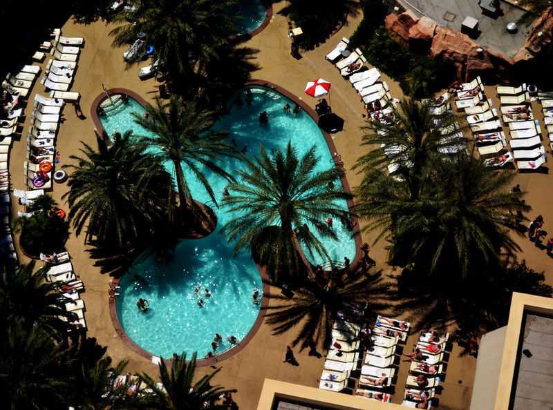 Pool at Monte Carlo in Las Vegas