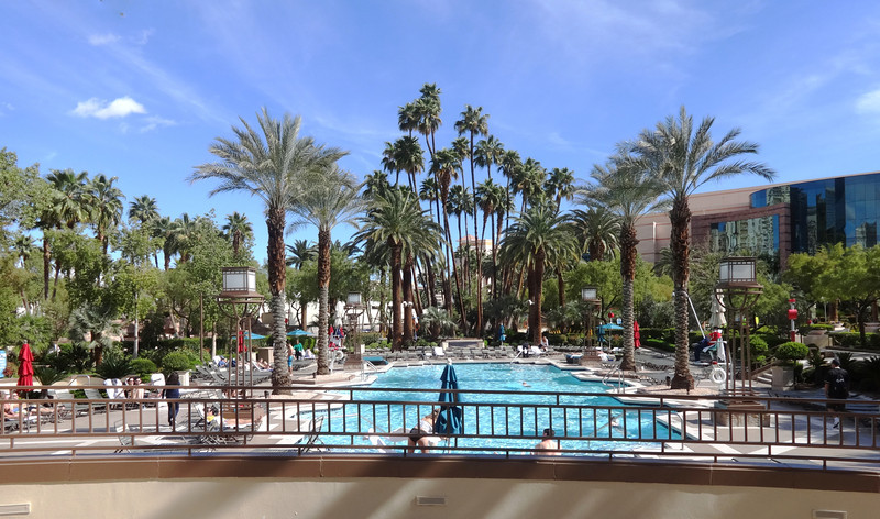 Swimming Pool at the MGM Grand in Las Vegas NV