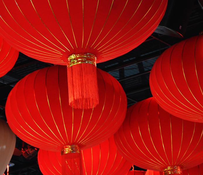 Red Lanterns at Consumer Electronics Show in Las Vegas