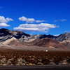 Highway 95 from Reno to Las Vegas Purple Mountains Majesty