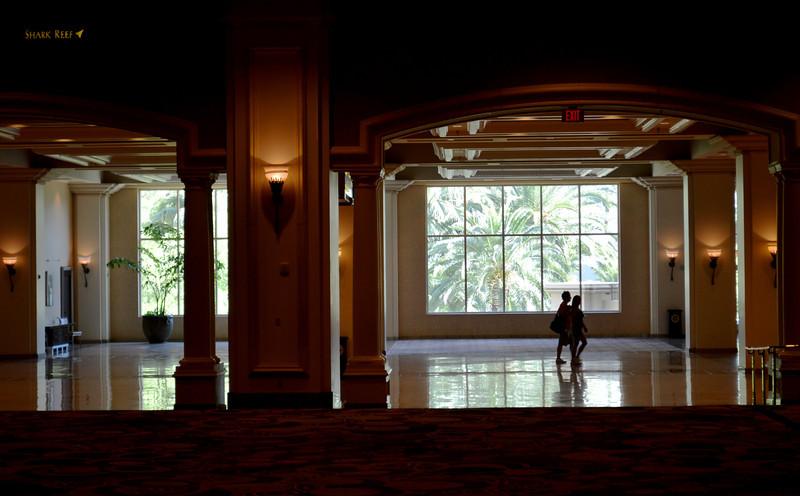 Lobby at Mandalay Bay Convention Center in Las Vegas NV 3