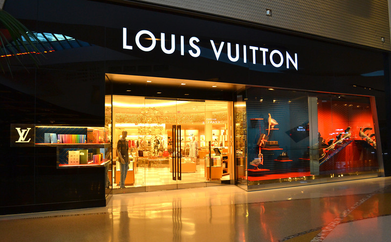 Louis Vuitton Store in City Center in Las Vegas Nevada