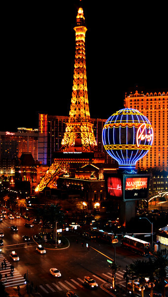 Las Vegas at night 2