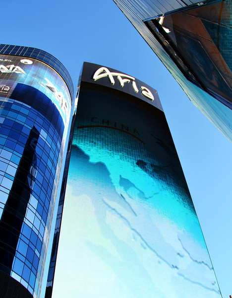 Aria Hotel in City Center in Las Vegas NV