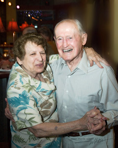 Earl and Edith (Edie) Hutton still dancing together at age 89 and 91 in Grand Junction, Colorado.