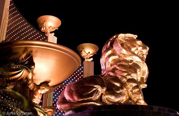 MGM Lion - Las Vegas, NV, USA