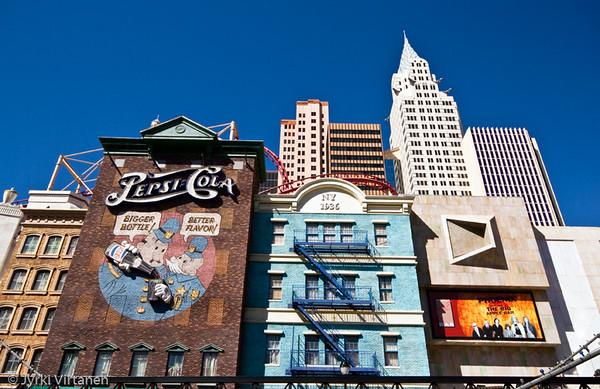 New York New York Hotel - Las Vegas, NV, USA