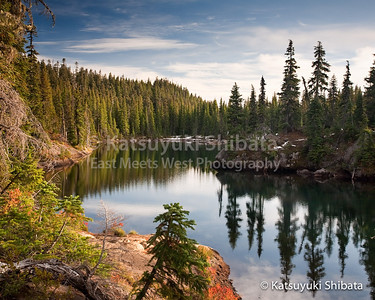 Tenas Lakes Mt. Washington Wilderness October 10, 2009