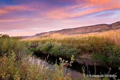 Donner und Blitzen River Malheur National Wildlife Refuge Southeastern Oregon September 25, 2011