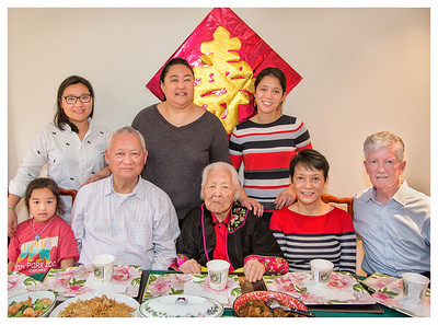 Lau Lau 99th Birthday Celebration