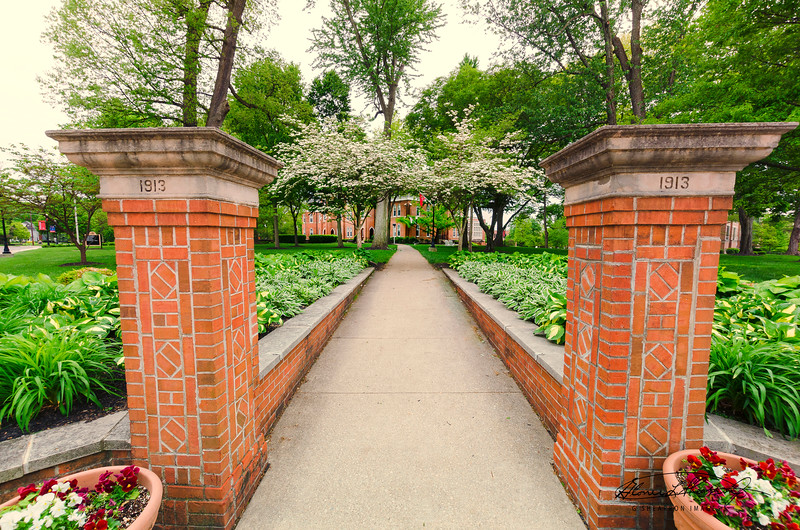 Path to Towers Hall