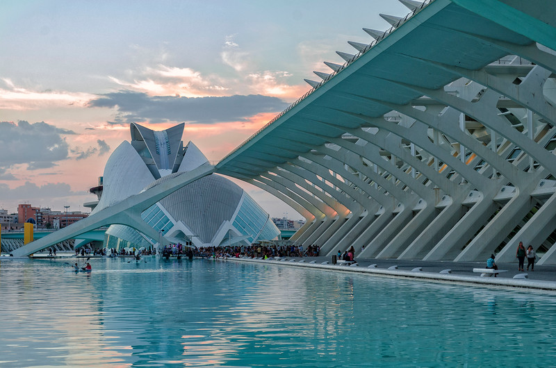 City of Arts & Sciences - Sunset