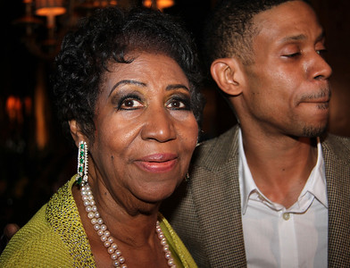 Legend & the Queen of Soul ARETHA FRANKLIN (born March 25, 1942), her private Birthday Party, Ritz Carlton, NY, March 22, 2014. Guests included Denzel Washington, Clive Davis, Charles Rangel, Roland Martin, Clifton Davis, Judge Greg Mathis, Jamie Foster Brown, Miles Marshall Lewis of EBONY, Gwen Quinn, Greg Dunmore, Debbie Miller, Jamie Brown, Audrey J. Bernard of the NY Beacon and many more.  Photograph by Celebrity Photo Journalist Lisa Pacino. All Rights Reserved Under The Duvet Productions, NY © All Right Reserved.