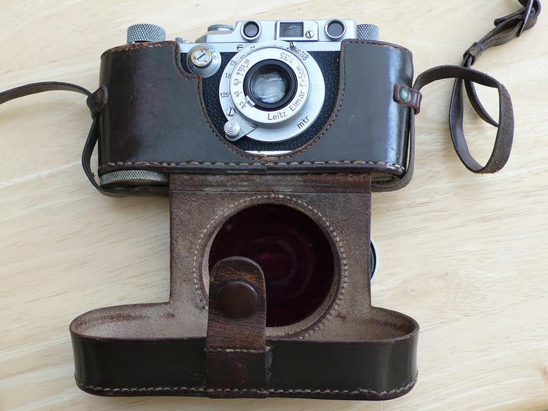 1935 Leica IIIa and ERC
