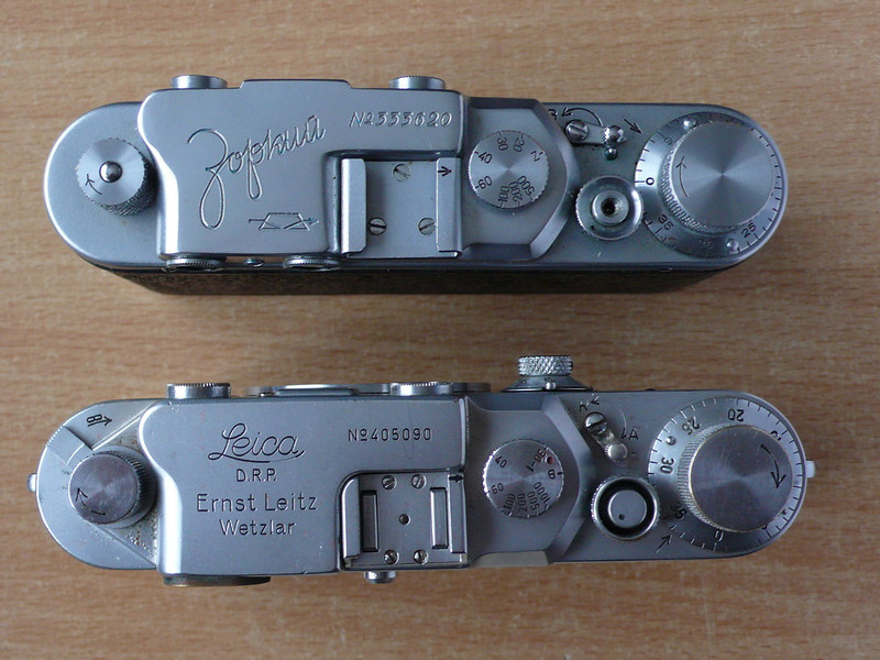 Zorki 1 and Leica IIIc