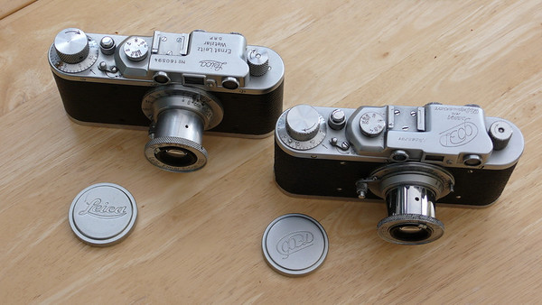 Leica II's, FED 1's and Zorki 1's (and other useful things).