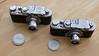 Leica II and FED I