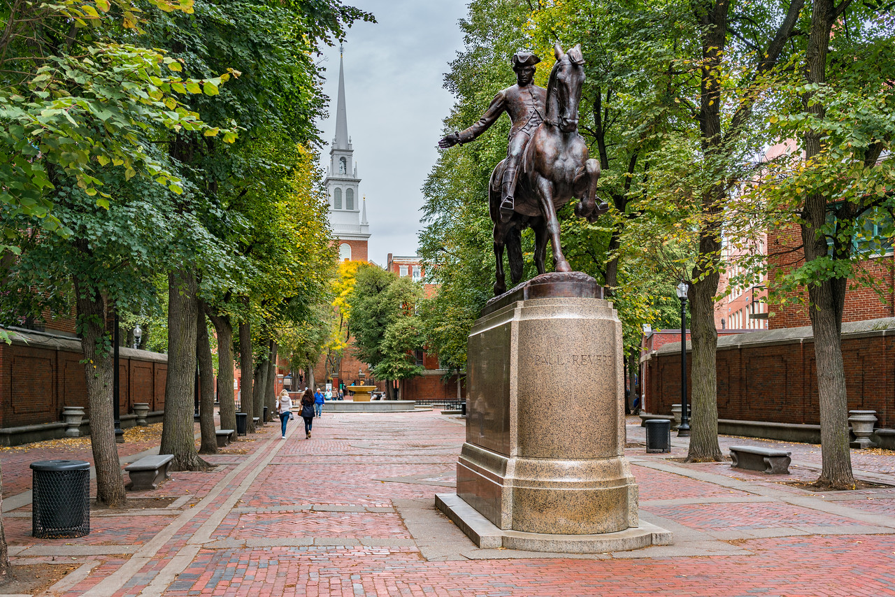 Paul Revere and The Old North Church