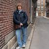 Michelle in an Alleyway