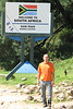 Me, at the South Africa / Lesotho ( Sani Pass ) Border Post