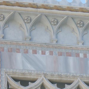 N, M, V, W, take your pick. What do you see?  Stonework detail at the Venetian, Las Vegas