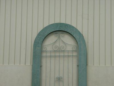 N, ornamental ironwork, Tampla, FL