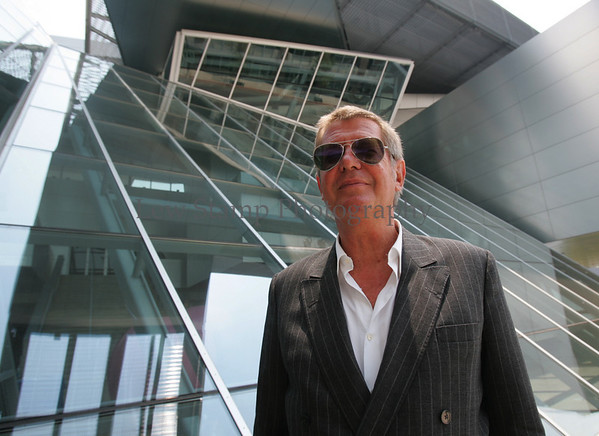Architect Wolf Prix designer of the Akron Art Museum Tuesday, July 10, 2007, Akron, Ohio.   (Lew Stamp/Akron Beacon Journal) Not for sale