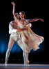 "Jimmy Orrante (left) and Jamie Dee dance in ""Romeo and Juliet"" as the BalletMet dance company from Columbus performed on stage in Firestone Park as part of the Heinz Poll Summer Dance Festival, on Friday, Aug. 17, 2007, in Akron, Ohio. (Lew Stamp/Akron Beacon Journal) Not for sale"