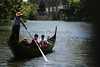 The Italian American Festival is underway complete with gondola rides oared by gondolier Marco Days on the Cuyahoga River Saturday, July 14, 2007, Cuyahoga Falls, Ohio.  (Lew Stamp/Akron Beacon Journal) Not for sale