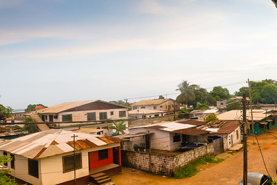 2016_11_05, View from BellaCasa, Monrovia, Liberia