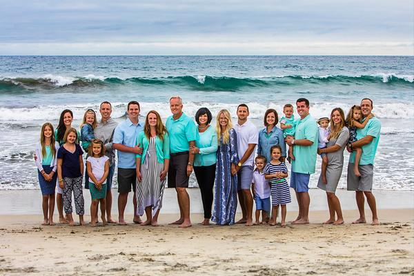 Family Photo at Carlsbad, California