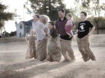 Winning with Family at the Park, Mesa, AZ