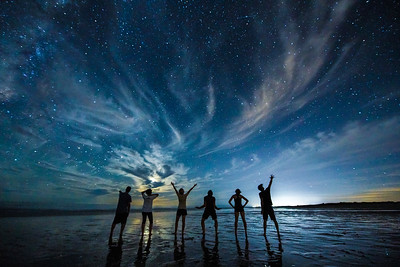 Reach for the Stars, Astrophotography, Rocky Point, Mexico