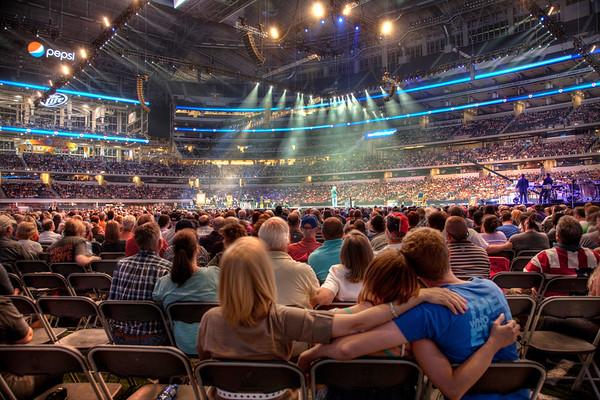 Glenn Beck Restoring Love Event at Dallas Cowboys Stadium - Dallas, TX 2012
