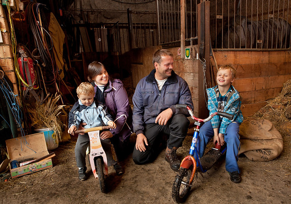 Farming Family, Leipzig, Germany