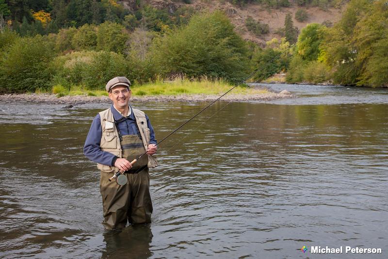 Klickitat River Fly Fisherman