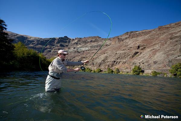 Deschutes River Spey Cast