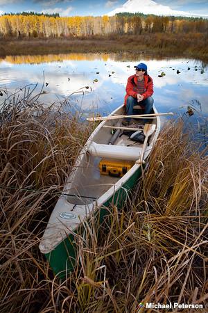 Fall Canoe Fishing
