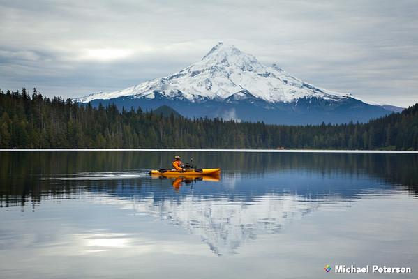 Lost Lake Kayak Fishing