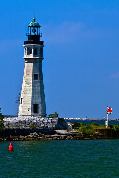 Buffalo Main Lighthouse in Buffalo, New York