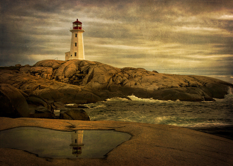 Peggy's Cove Lighthouse - Nova Scotia, Canada