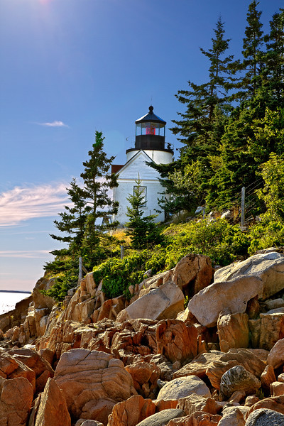 Bass Harbor Lighthouse in Maine