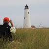 GREAT POINT LIGHT - Nantucket Island, Massachusetts<br /> Flashing White every 5 seconds