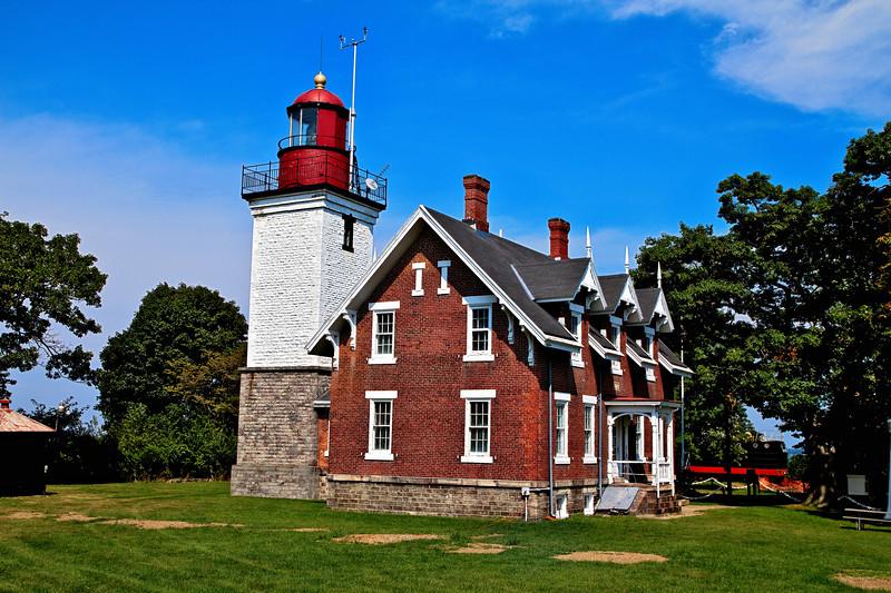 Dunkirk Lighthouse in Buffalo, New York