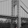 George Washington Bridge and the Little Red Lighthouse, New York