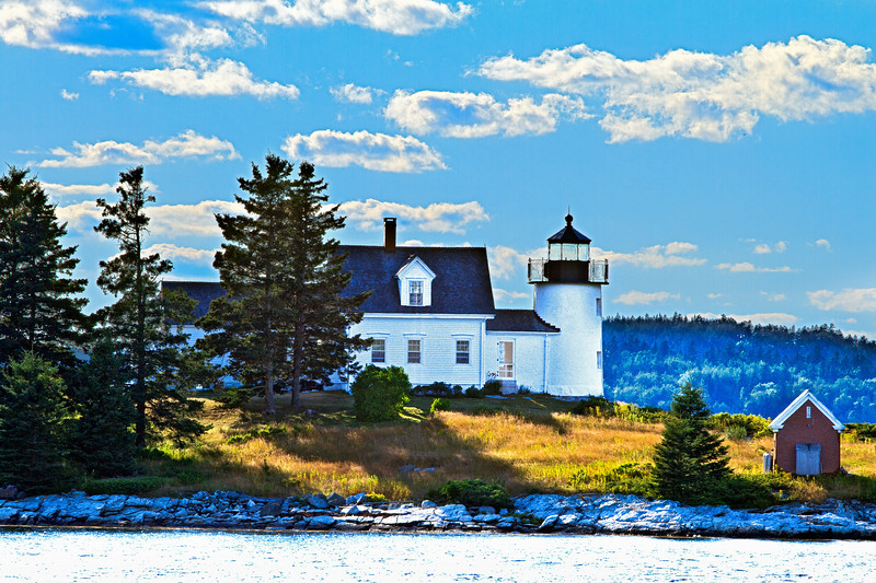 Eggemoggin Lighthouse in Maine