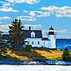 Eggemoggin Lighthouse in Maine