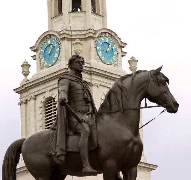 St Martin in the Fields, Trafalgar Square, London