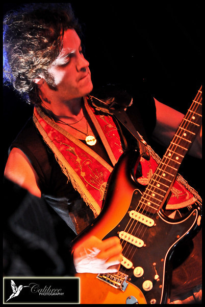 Nico Vega at Cafe DuNord Copyright CalibreePhotography 2011