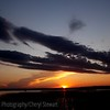 Sunset over Madge Lake SK